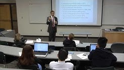 Spring 2014 Business Lectures -  Jeffrey Flamm