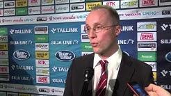 Joonas Tanska haastattelussa SM-liigan pudotuspeli-infossa.