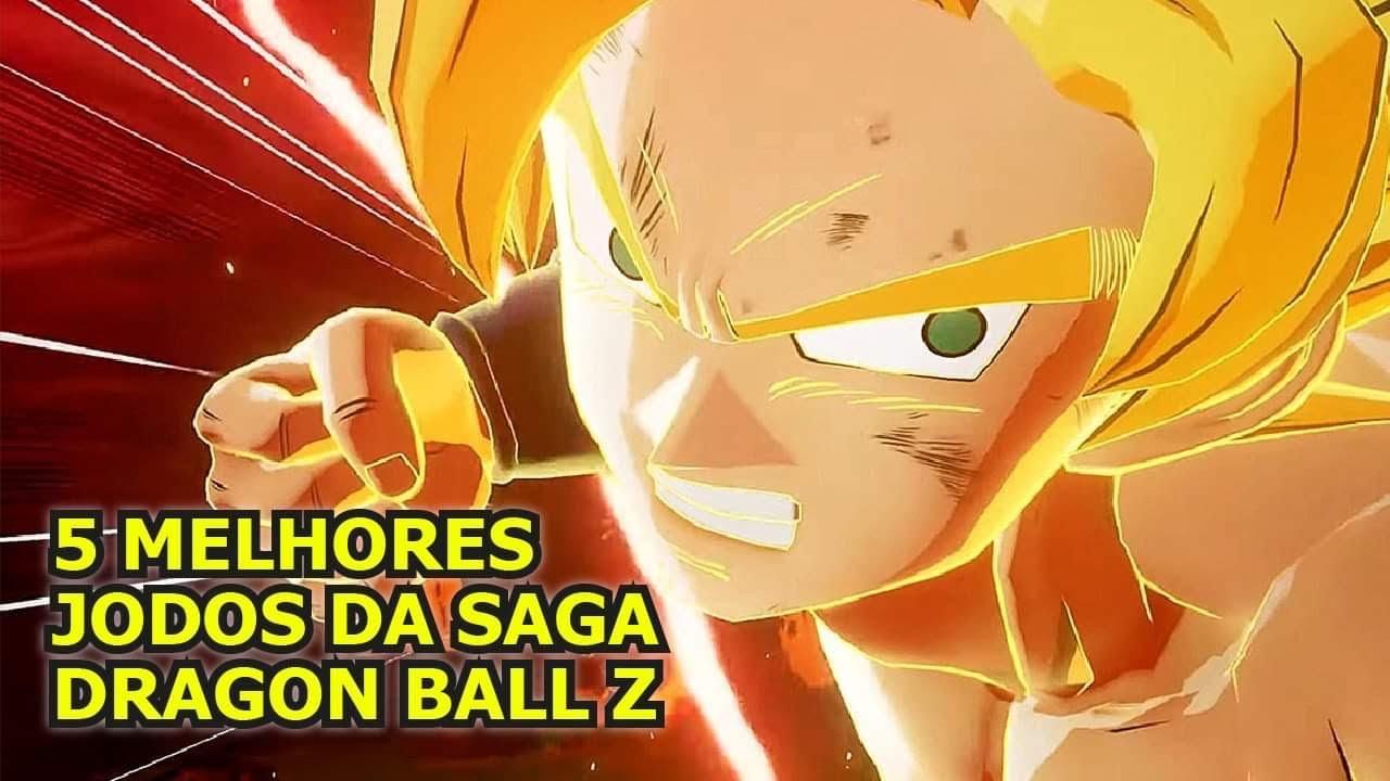 Drangon Ball z, o top 5 dos melhores jogos!