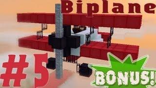 видео: Minecraft - как построить кукурузник? (Bonus #5)
