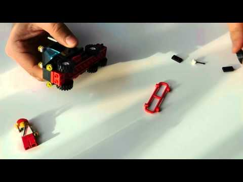 Vintage Lego Set #6357 | Stunt 'Copter 'n' Truck |from 1988