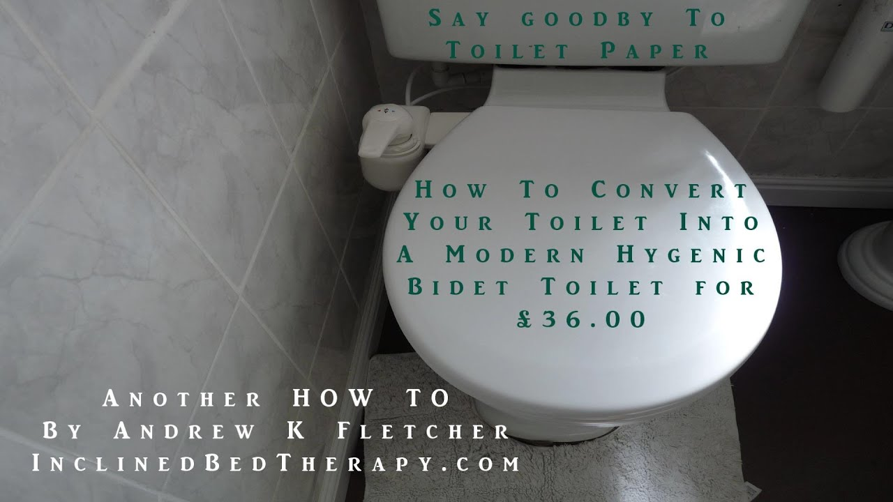 How To Convert Your Toilet Into A Modern Hygenic Bidet For 36