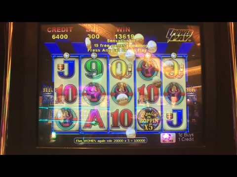 Super Big Win Miss Kitty Slot Machine Bonus All Stars