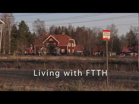 Living with FTTH -- Sweden