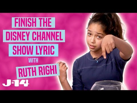 Sydney to the Max Star Sings Disney Channel Theme Songs | Finish The Lyric