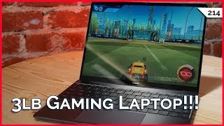 2.8 Pound Gaming Laptop: Huawei MateBook 13! Earbuds Under $100, USB Aromatherapy, SIM Card Hacks