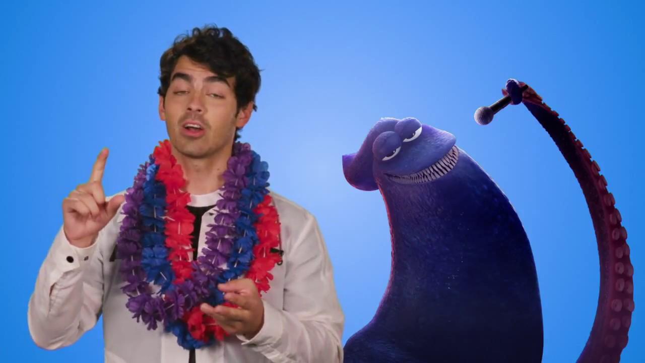 Hotel Transylvania 3 The Kraken Joe Jonas Interview Youtube