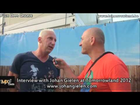 Interview with Johan Gielen at Tomorrowland 2012
