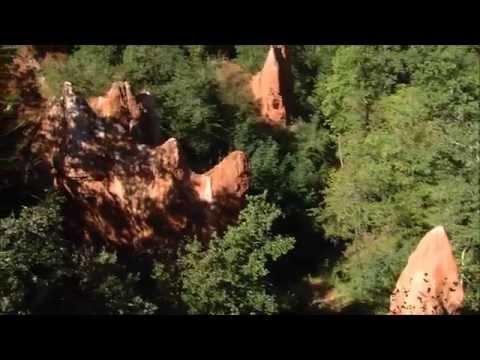 Les Cheminees De Fee De La Vallee Des Saints Youtube
