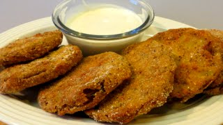 How To Make Fried Green Tomatoes - Southern Fried Green Tomato Recipe