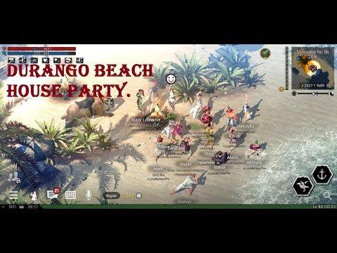Durango wild lands beach house party