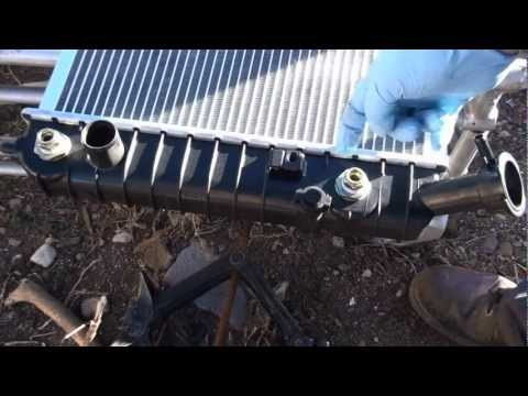 How to install a radiator pontiac grand prix gtp