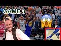 ESCAPED WITHOUT A SCRATCH! GOLDEN STATE WARRIORS PLAYOFF HIGHLIGHT REACTION VS SPURS!