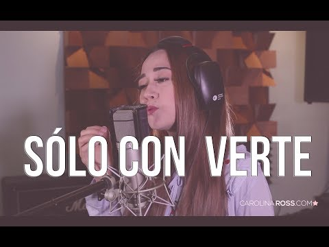 Solo con verte - Banda MS (Carolina Ross cover) En Vivo Sesión Estudio