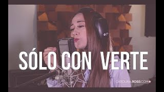 Sólo con verte - Banda MS (Carolina Ross cover) En Vivo Sesión Estudio