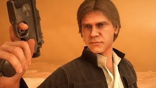 Dan Solo pulling a Jackfrags - Starwars Battlefront
