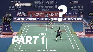 Ginting vs. Momota - Offense vs. Defense? Badminton Singles Strategy Explained (Part 1)
