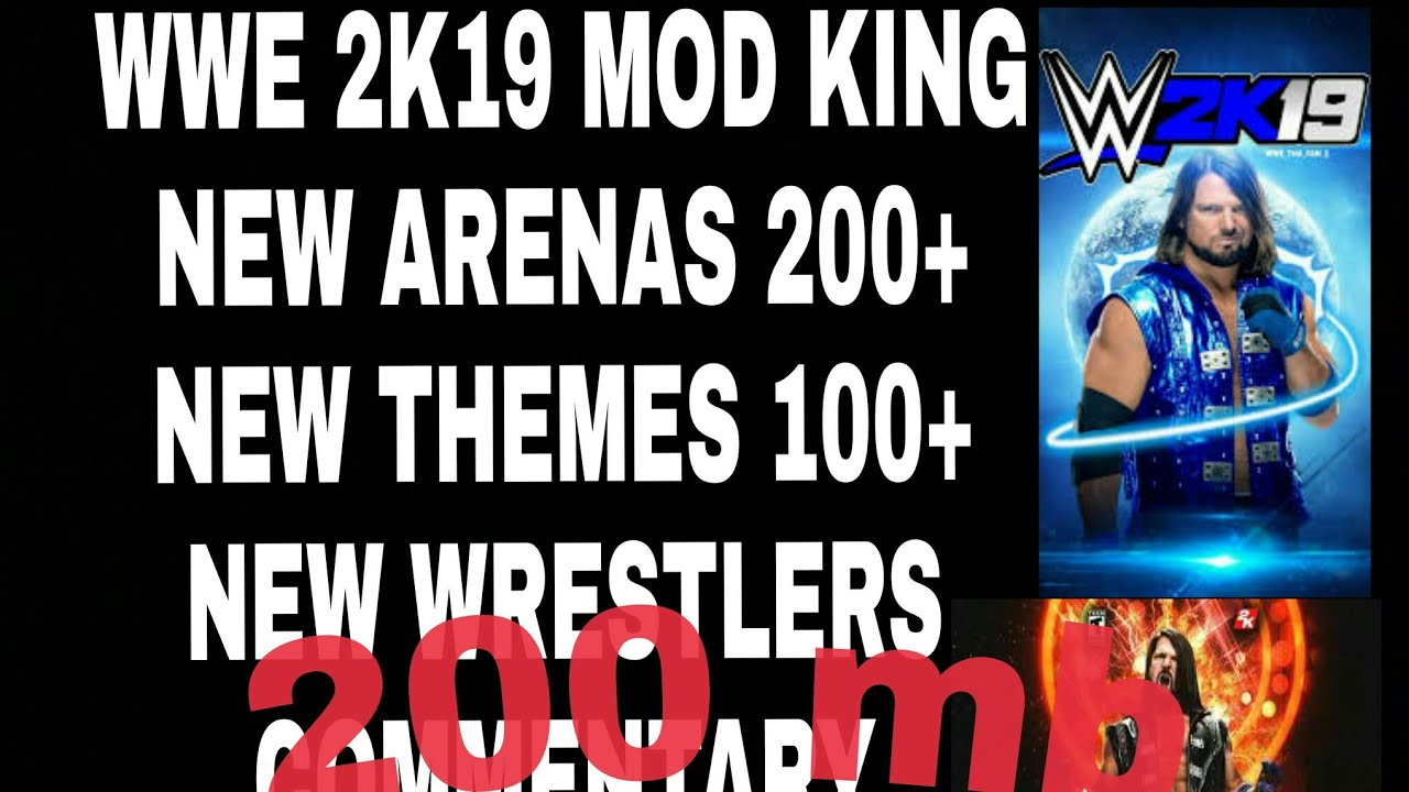 DOWNLOAD REAL WWE 2K19 (wr3d) in android free 200 mb mod hurry!!!!!!!!😱😨😰