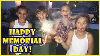 IT'S A MEMORIAL DAY CELEBRATION | We Are The Davises
