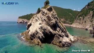 Montenegro -Čanj (Hotel LARA *** ) SUMMER 2017 REVIEW HD