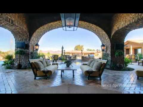 12 MILLION DOLLAR LUXURY HOMES FOR SALE ARIZONA MANSION   VIDEO TOUR