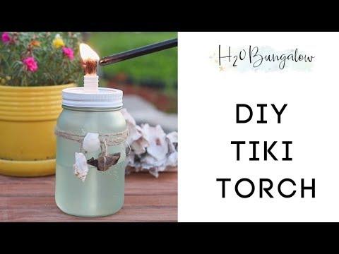 DIY Tiki Torch Tutorial
