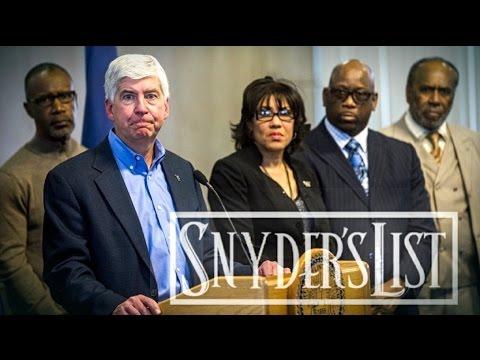 FLINT WATER CRISIS (Jail Rick Snyder)