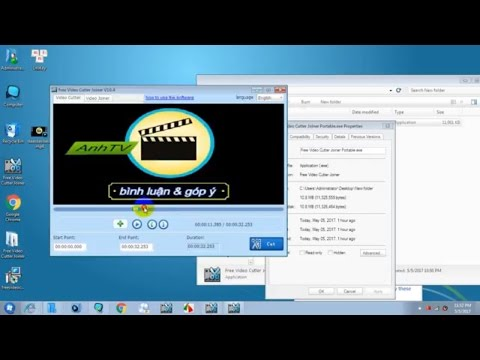 Free Video Cutter Joiner Portable Việt Hóa only File 2017