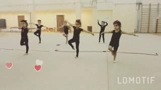 Занятия художественной гимнастикой у самых маленьких - первые уроки