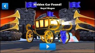 Crash of Cars Hidden Castle Royal Wagon Found !!!