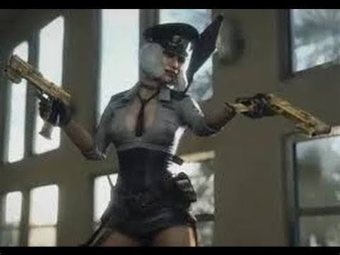 Dead Rising 3 Hilde Psycho Cutscene (intro and death)