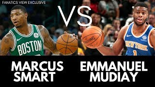 Emmanuel Mudiay vs. Marcus Smart - NBA Players Square Off in Dallas