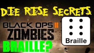 Die Rise Secrets: Braille Message in the Spawn? I'm Not Convinced but WHAT Is It?
