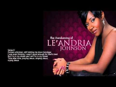 "Le'Andria Johnson - ""Jesus"" Official Lyric Video (Gospel)"
