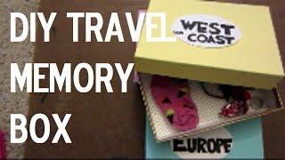 Diy Travel Memory Box