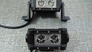 Дополнительные светодиодные фары LED 029-20W Spot(Дополнительные светодиодные фары LED 029-20W Spot ( луч 30 градусов), однорядное расположение светодиодных модуле..., 2013-12-27T11:11:10.000Z)