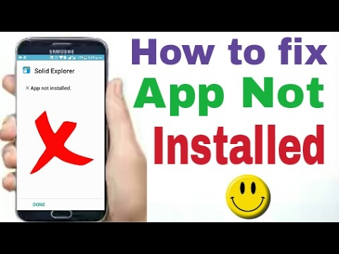 App Not Installed-How To Fix App Not Installed Problem On
