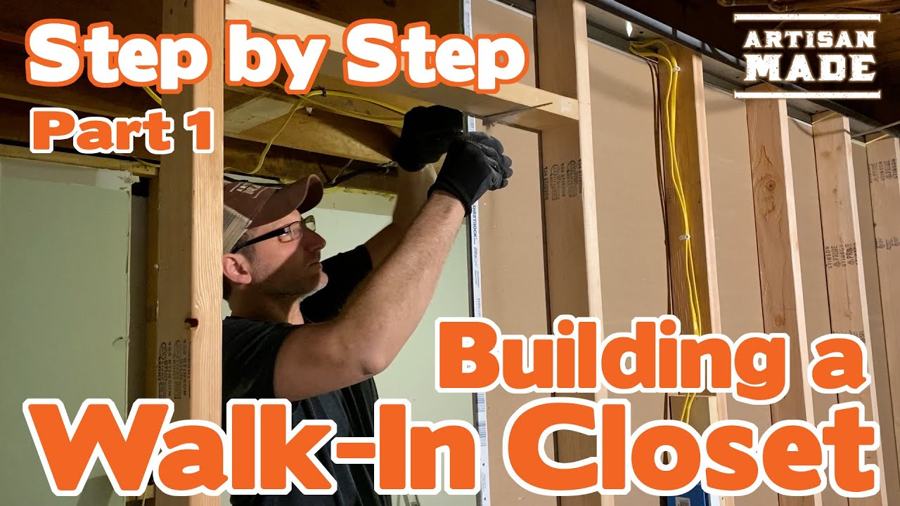 Download How to Build a Walk-In Closet Part 1