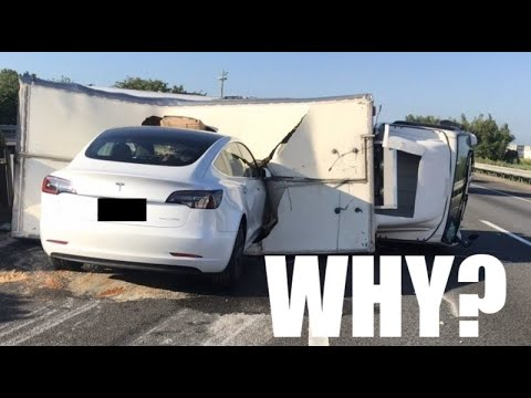 Why did Tesla Autopilot Crash into an Overturned Truck?