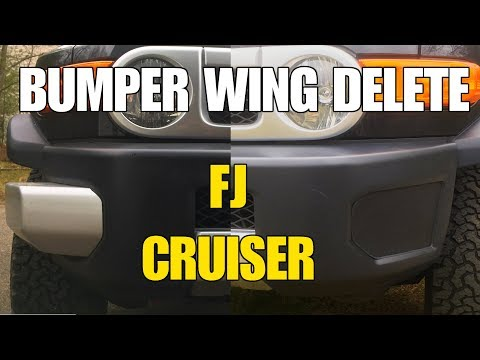 Bumper Wing DELETE on the FJ CRUISER