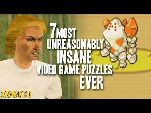 7 Video Game Puzzles That Made No !@$&ing Sense