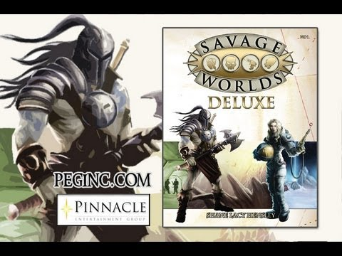 Game Geeks #180 Savage Worlds Deluxe by Pinnacle Entertainment