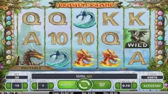 Free Dragon Island Slot by NetEnt Video Preview | HEX