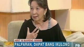 UH: Hirit ni Mareng Winnie: Palparan, dapat bang ikulong sa military detention facility?