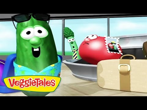 Veggietales | The Hairbrush Song | Silly Songs With Larry Compilation | Cartoons For Kids