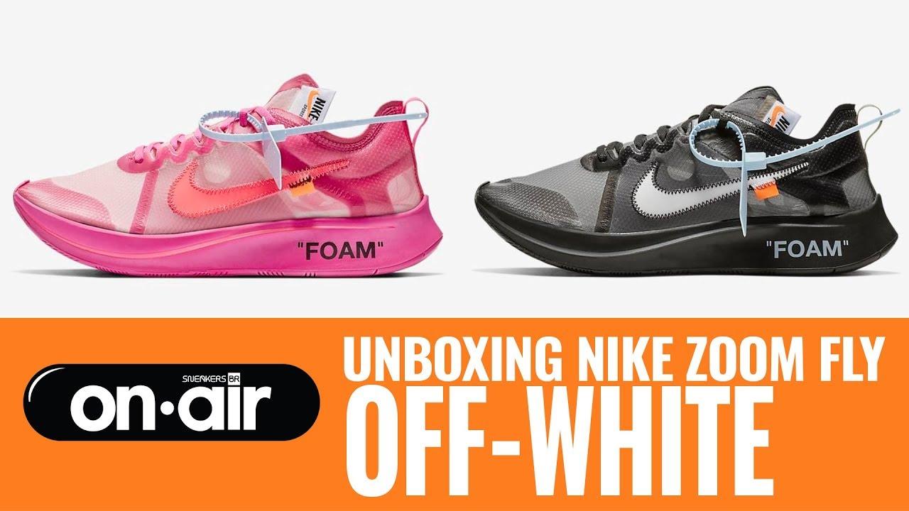 485cf8db3 SBROnAIR Vol. 108 - Unboxing Nike Zoom Fly  Off-White  - YouTube