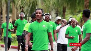 Nigeria 4 - 0 Libya: Official Super Eagles walkout before the win