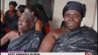Kofi Annan's Burial - Joy News Prime (27-8-18)