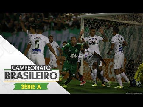 Melhores Momentos - Chapecoense 2 x 0 Fluminense - Campeonato Brasileiro (22/10/2017)