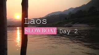 Slow Boat To Laos...Day 2...Black Girl Traveling...Travel Vlog